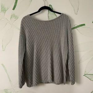 Soft Gray Ann Taylor Sweater